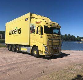 Leverans till Widéns åkeri i Kalmar AB