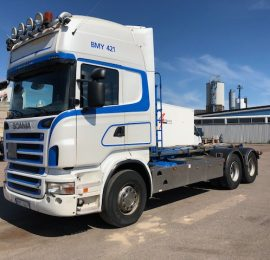 Scania R500 Lastväxlare Såld till Stockholm