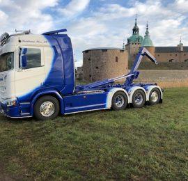 Scania R580 8×4 Hiab XR24SL
