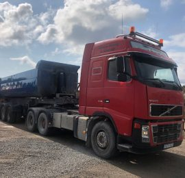 Volvo FH 16 och Parator tipptrailer såld Till Hammerdal