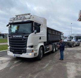 Beg Scania R580 och Beg nor slep såld Gällivare